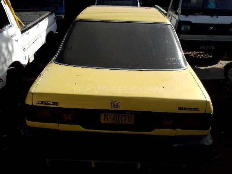 Honda Accord 1988 Image-5