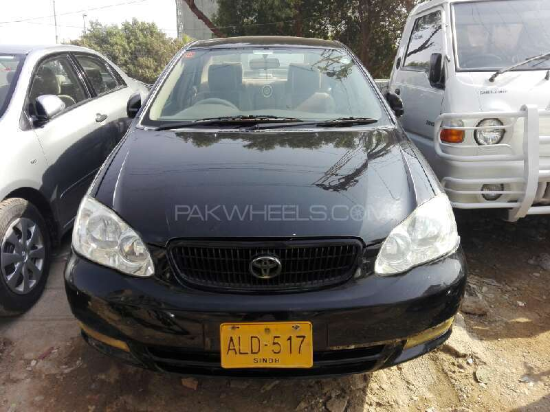 toyota corolla gli 1 3 vvti 2006 for sale in karachi pakwheels. Black Bedroom Furniture Sets. Home Design Ideas