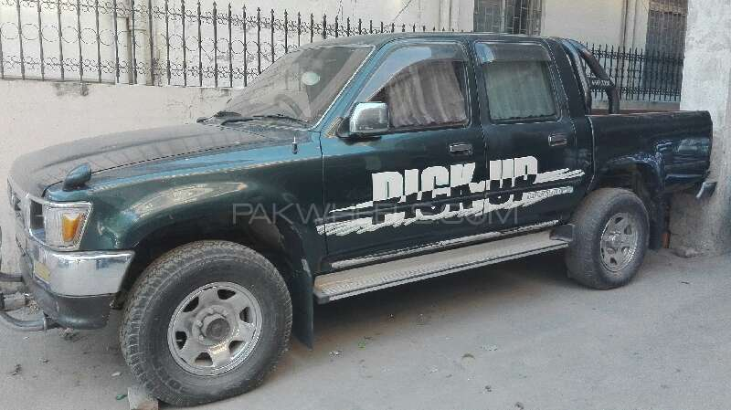 Toyota Hilux Double Cab 1996 Image-3