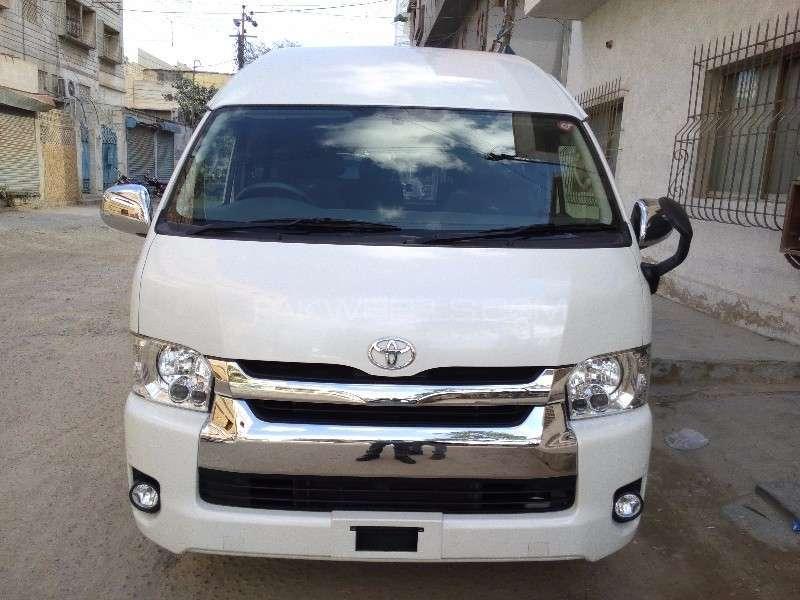 Toyota Hiace Grand Cabin 2014 for sale in Karachi  PakWheels