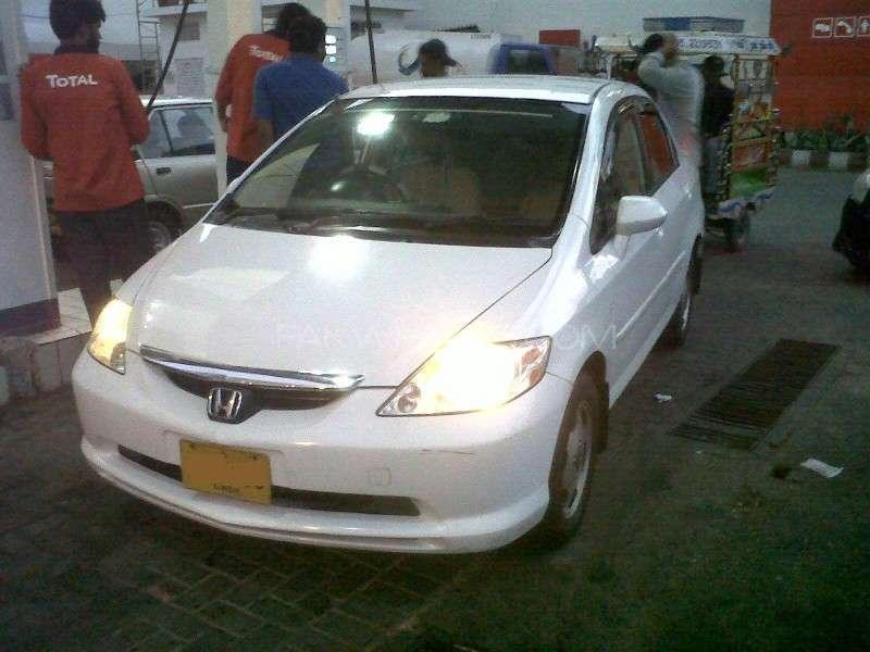 Honda City - 2005 White Monster Image-1