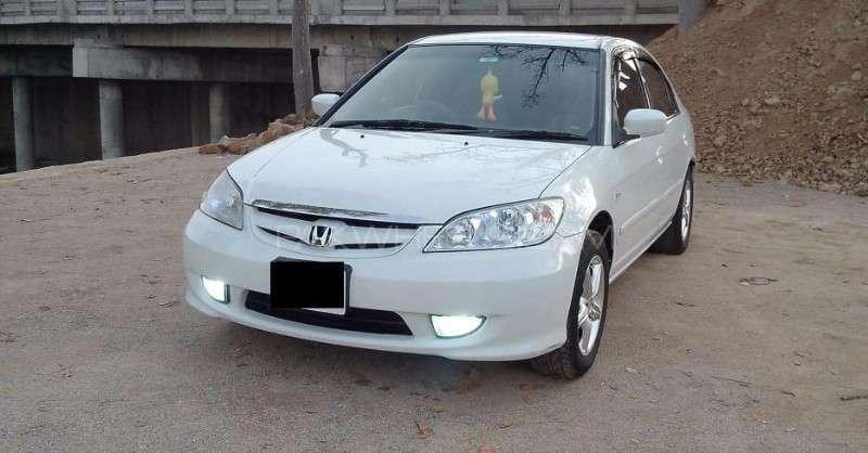 Honda Civic - 2005 White Dragon Image-1
