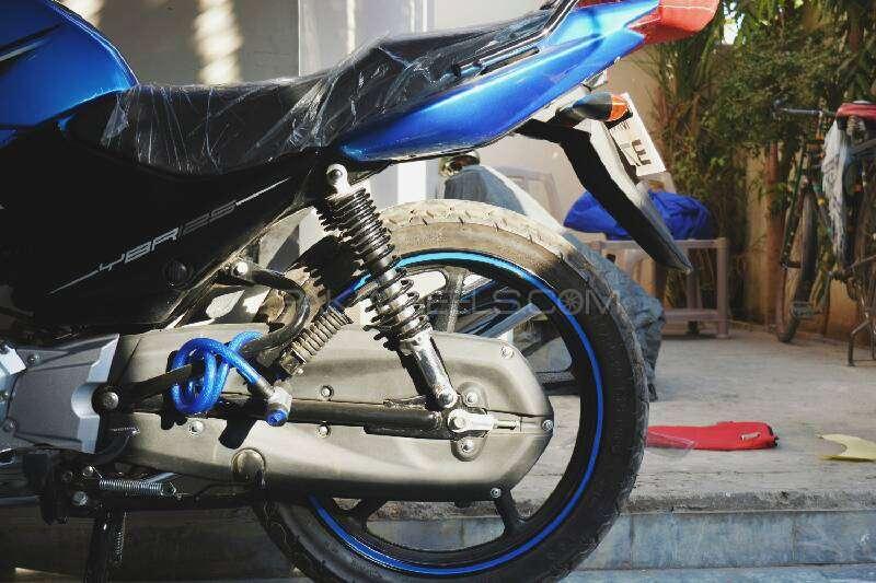 Yamaha YBR 125 - 2016 blue bullet Image-1