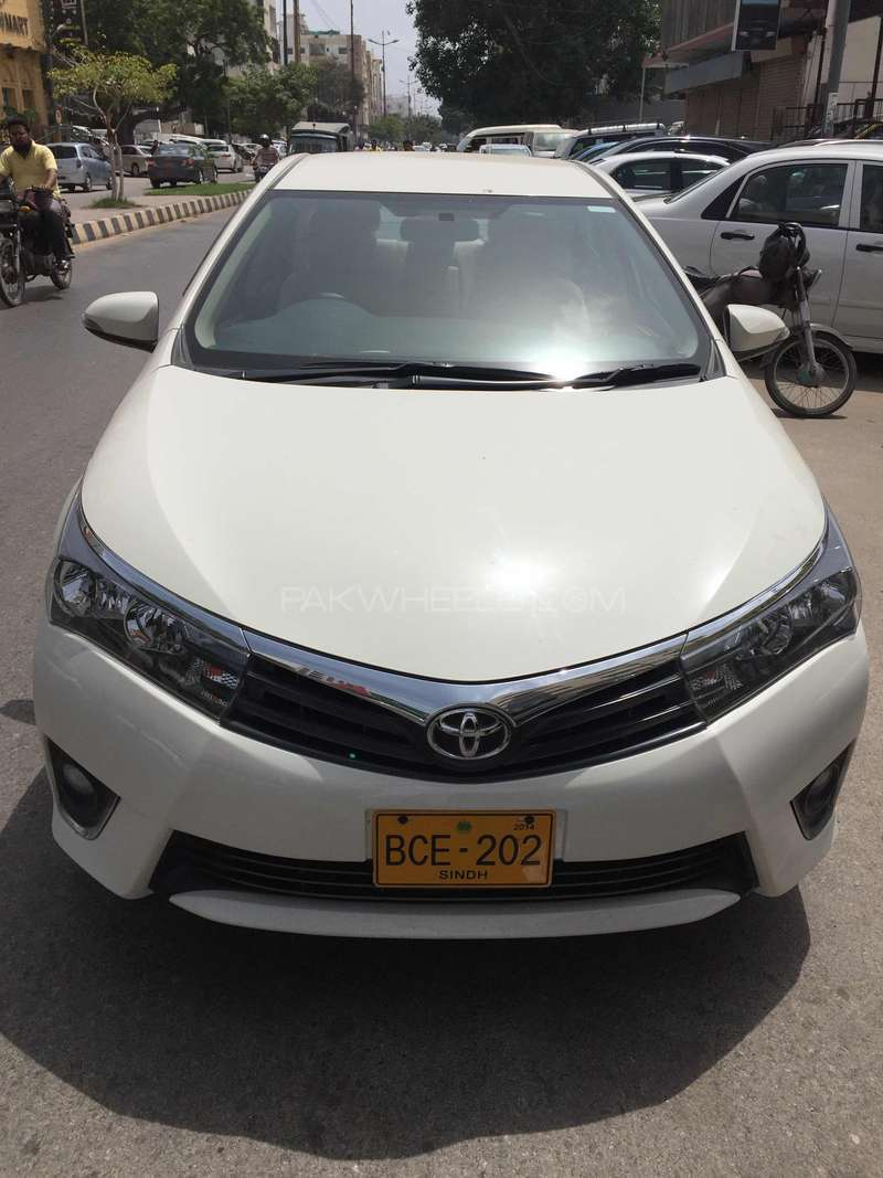 Toyota Corolla - 2014 owais Image-1