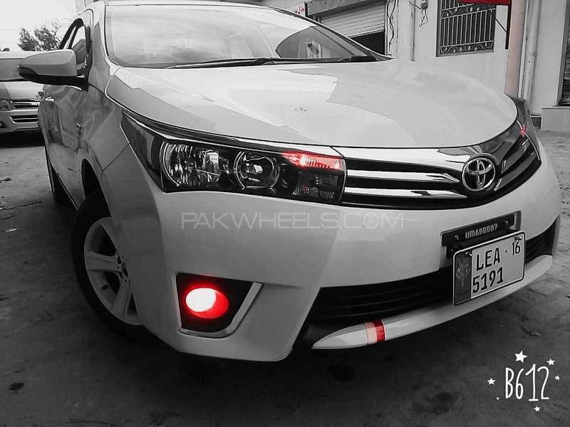 Toyota Corolla - 2016 cat Image-1