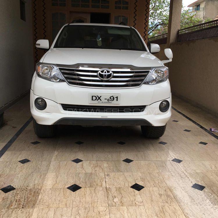 Toyota Fortuner - 2015  Image-1