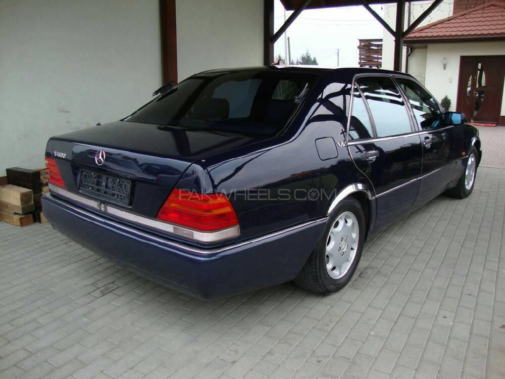 Mercedes Benz S Class - 1995 S Class S600 V12 Image-1