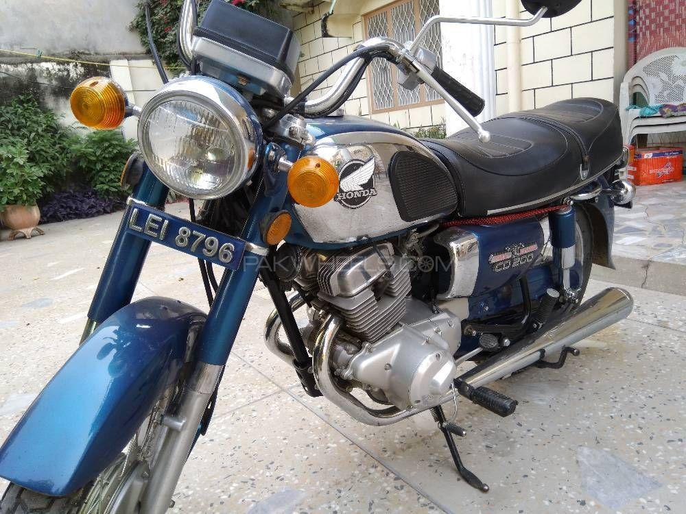 Honda CD 200  - 1981  Image-1