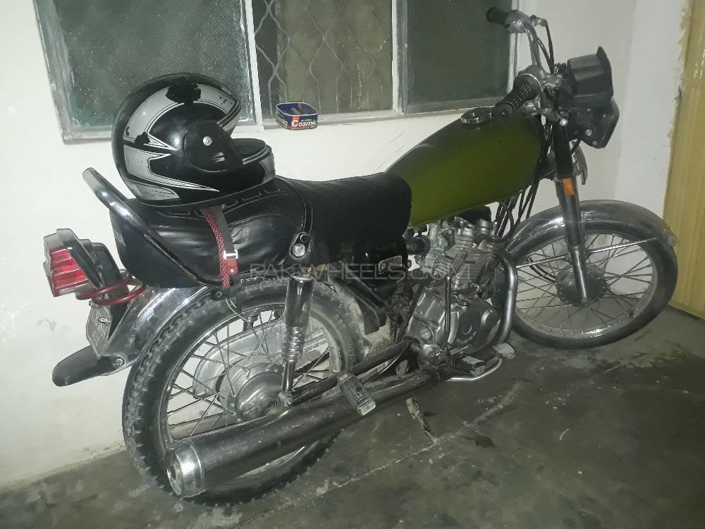 Honda CG 125 - 1986  Image-1