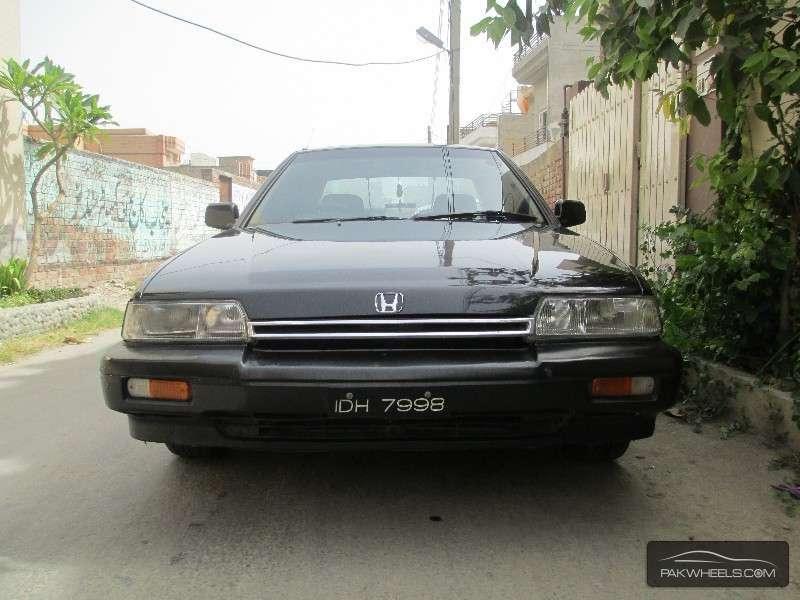Honda Accord - 1986 Black Beauty Image-1