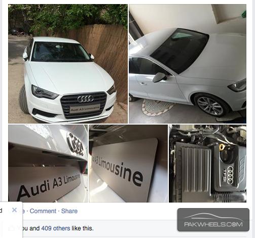 Audi A3 - 2015 CHITTII Image-1