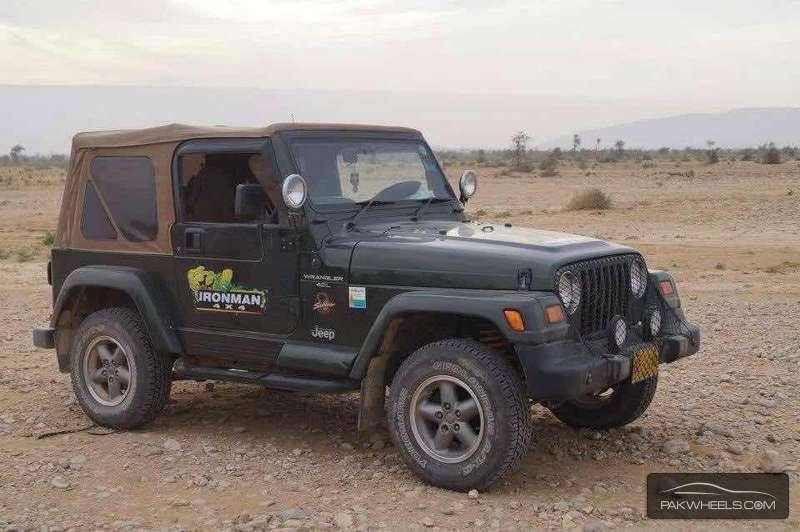 Jeep Wrangler - 1997  Image-1