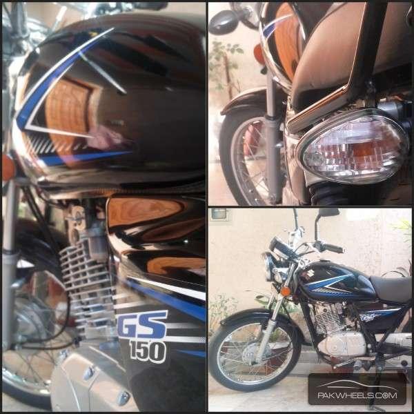Suzuki GS 150 - 2014 My Bike Image-1