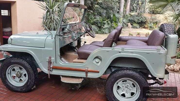 Unique Auto Import >> Toyota Land Cruiser 1950 of changezalam - Member Ride ...