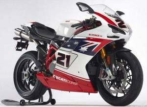 New Ducati 1098 R Bayliss LE
