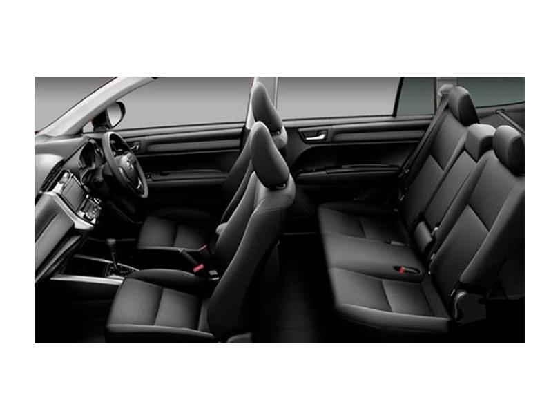 Toyota Corolla Fielder  Interior Cabin