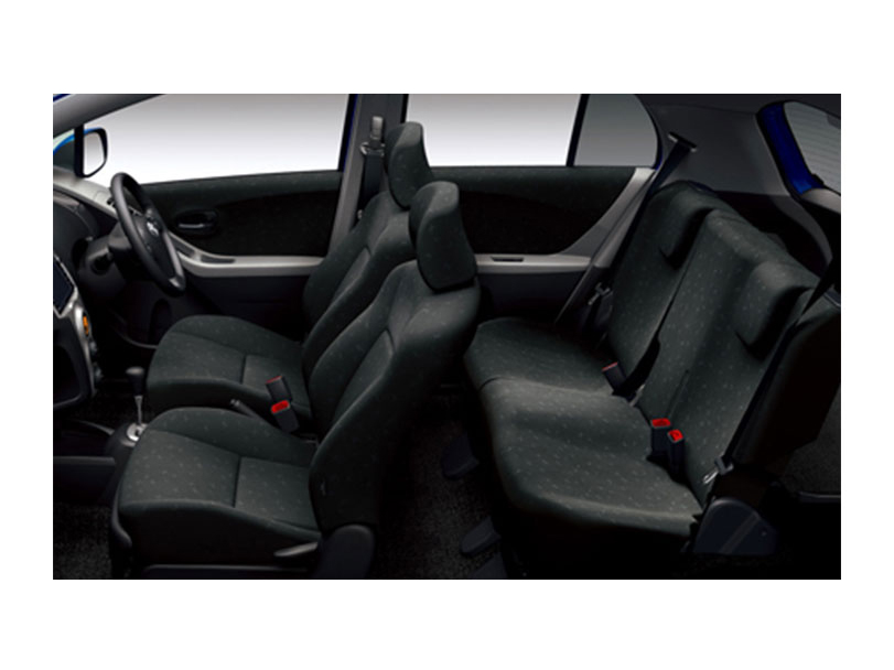 Toyota Vitz 2011 Interior Cabin