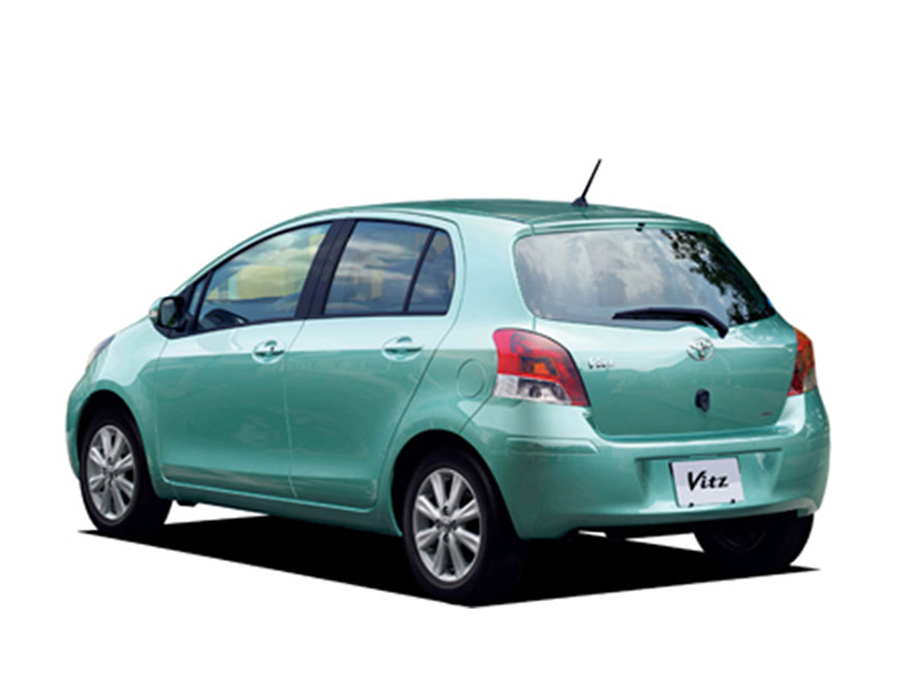 Toyota Vitz 2010 Exterior Rear View