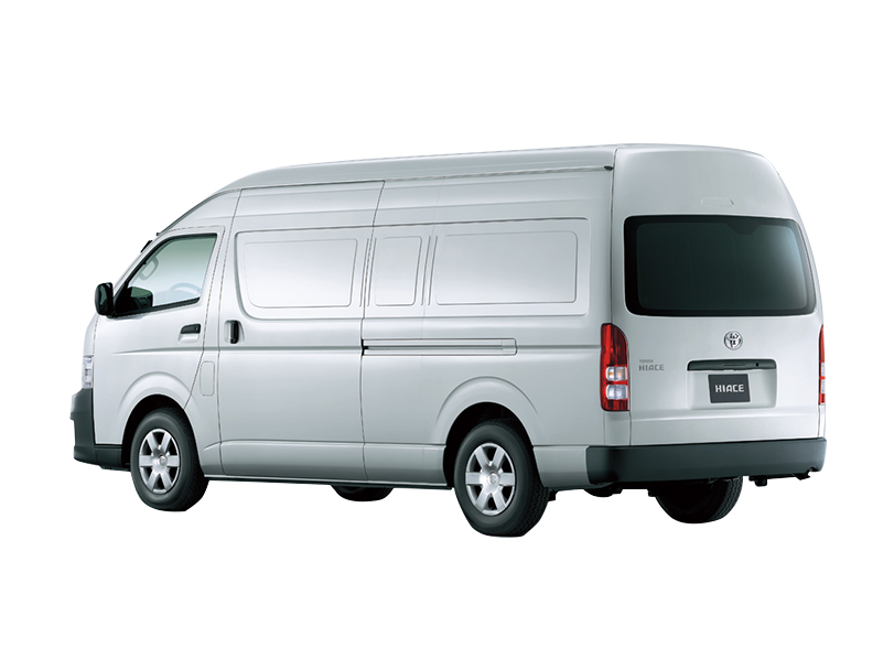 Toyota Hiace 2018 Exterior Rear Side View