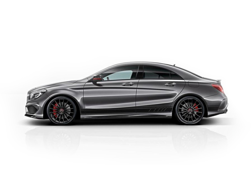 Mercedes Benz CLA Class  Exterior Side View