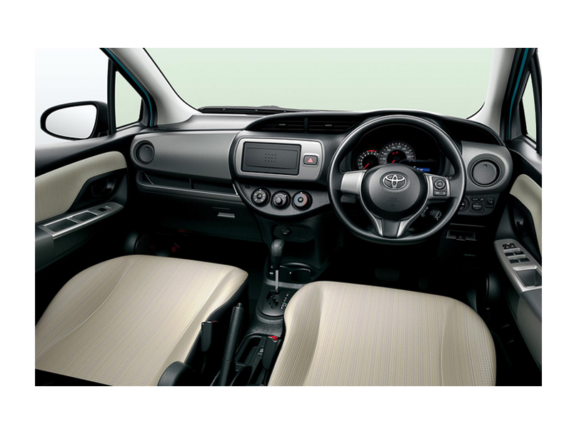 Toyota Vitz  Interior Dashboard