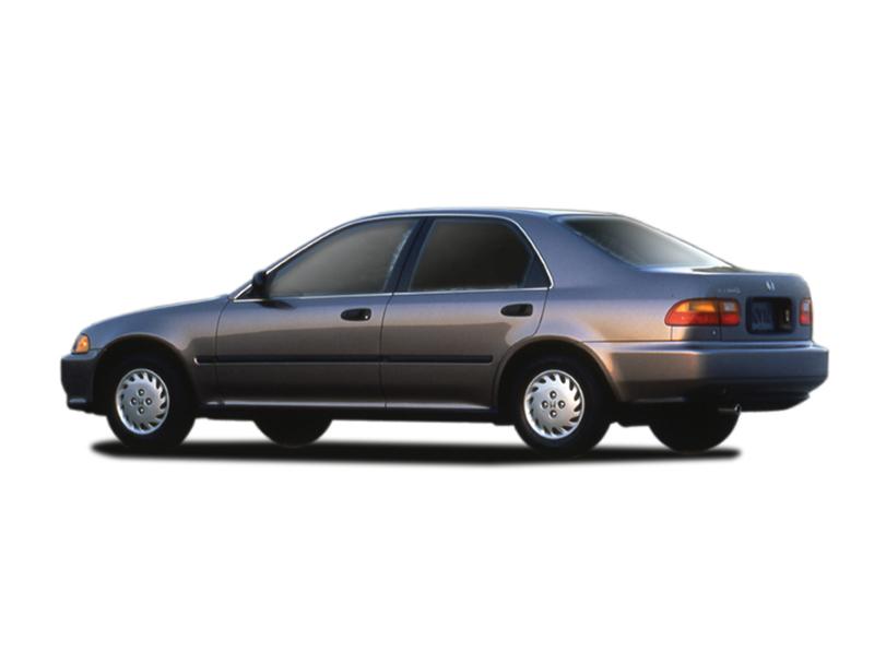 Honda Civic 1995 Exterior Rear Side View