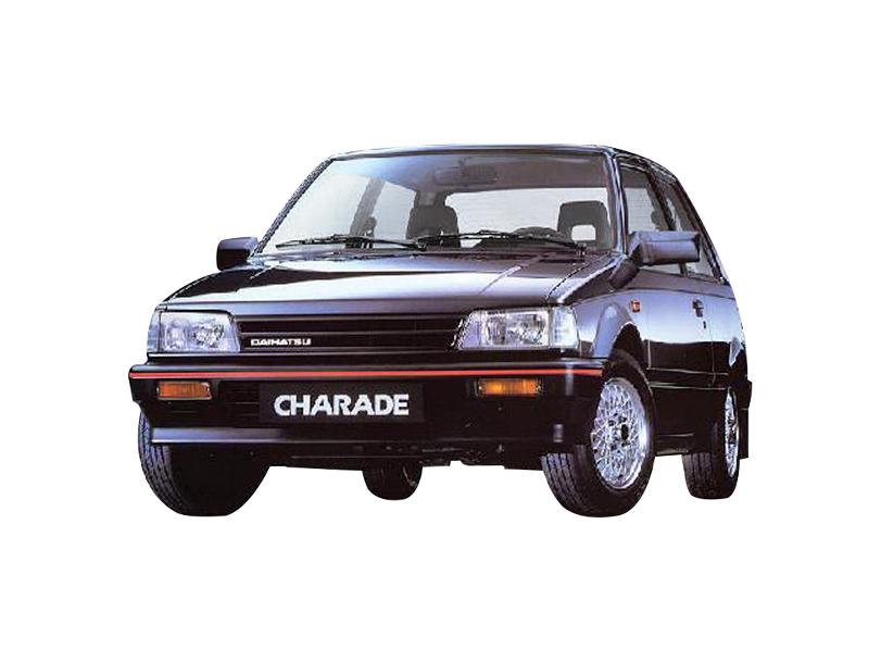 Daihatsu Charade 1987 Exterior Daihatsu Charade 2nd Gen
