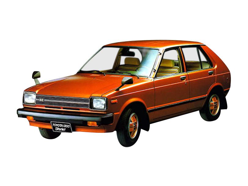 Toyota Starlet 1984 Interior