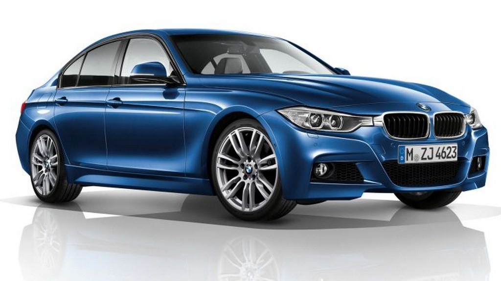 BMW 3 Series 2018 Exterior Front Side View