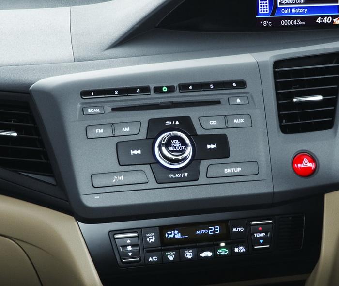 Honda Civic 2016 Interior Climate Control
