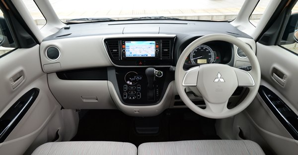Mitsubishi Ek Wagon  Interior Dashboard