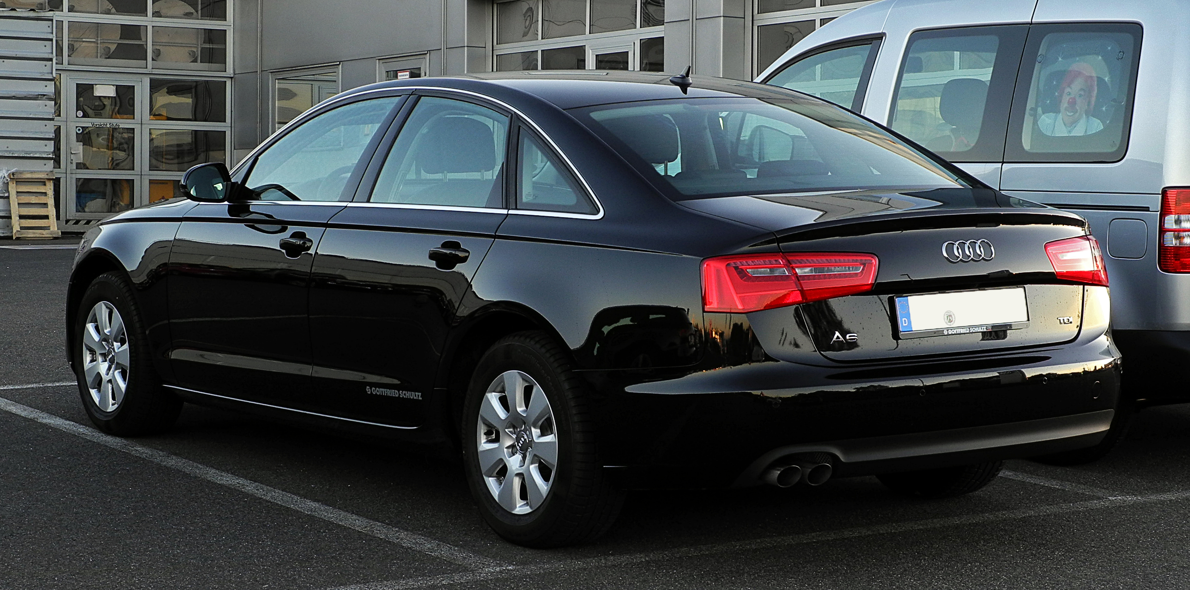 Audi A6 2018 Exterior Rear Side View