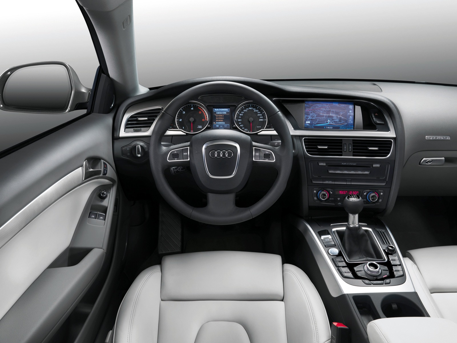 Audi A5 2016 Interior Dashboard