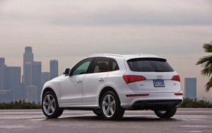 Audi Q5 2017 Exterior Rear Side Views
