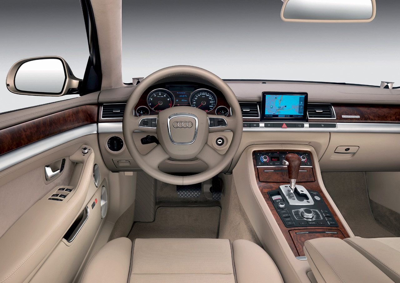 آوڈی A7  Interior Dashboard