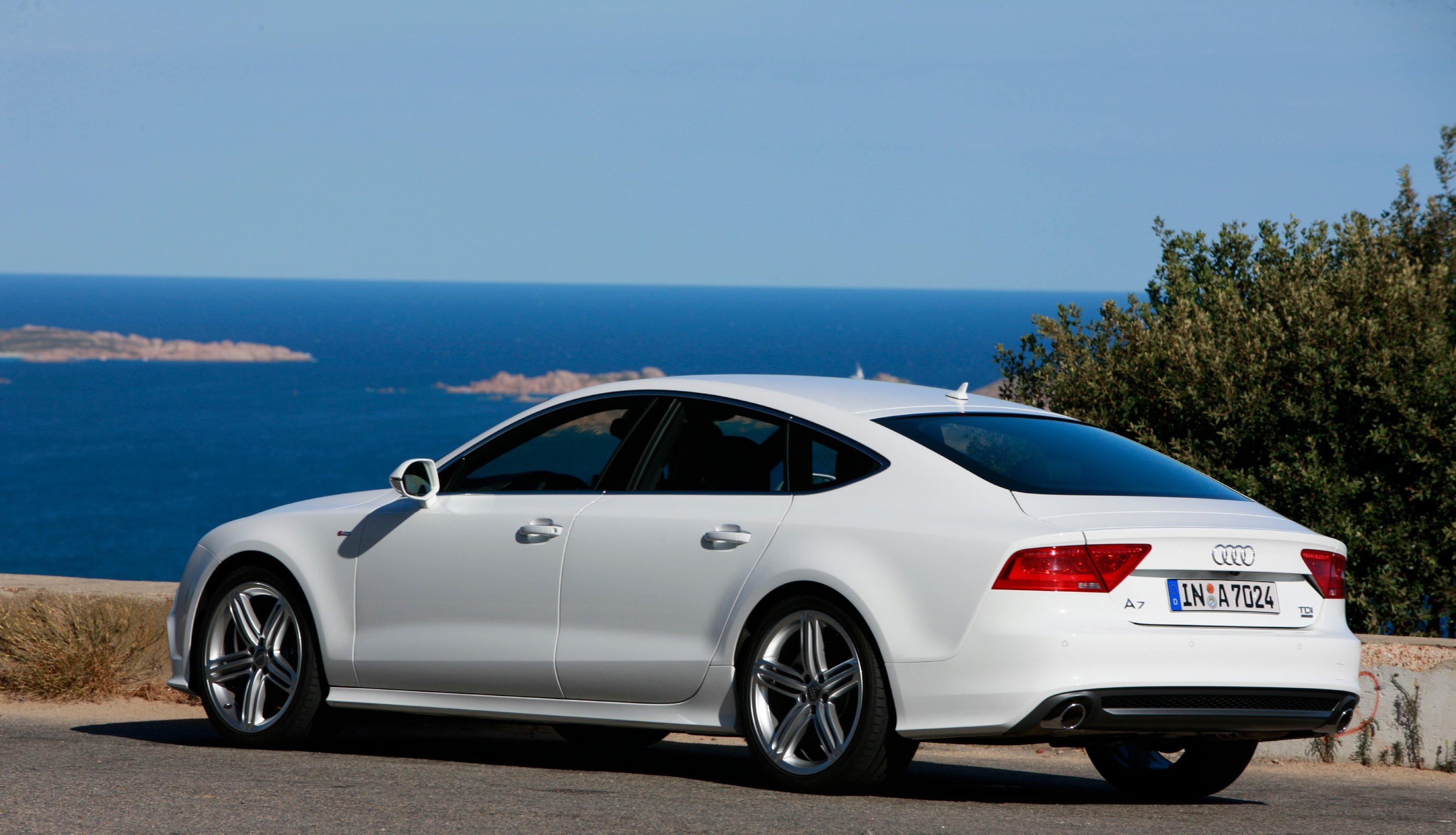 Audi A7  Exterior Rear View