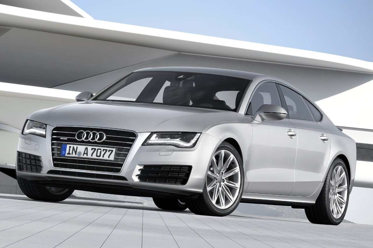 Audi A7  Exterior Front End