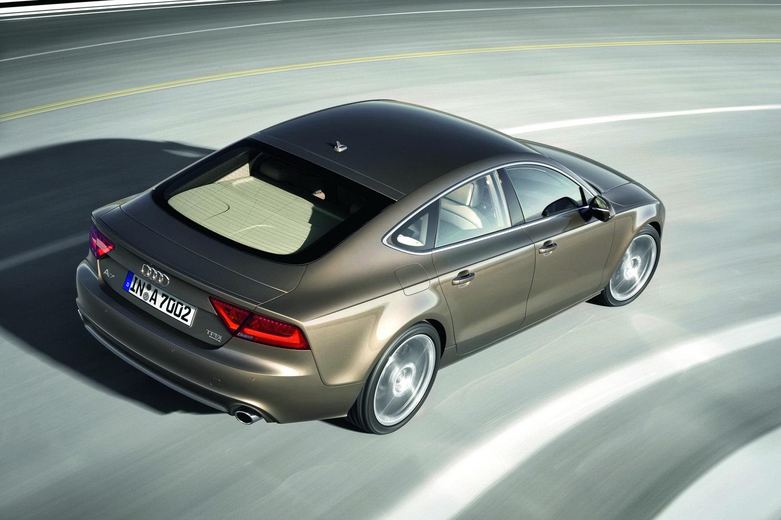 Audi A7 2020 Exterior Rear View