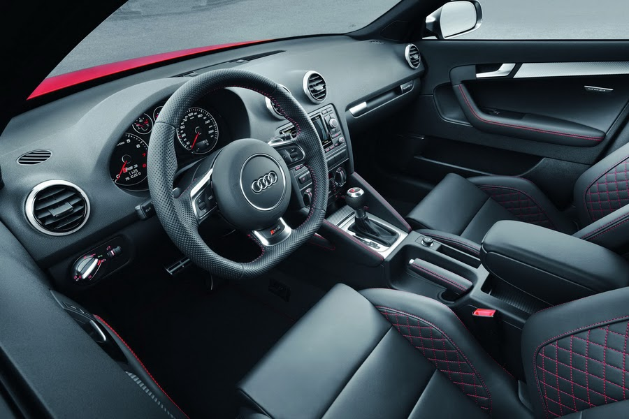 Audi A3 2019 Interior Dashboard