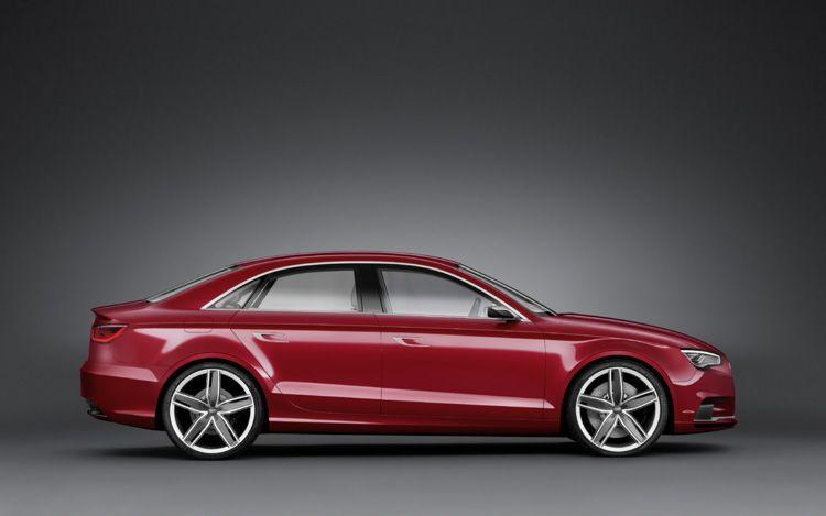Audi A3 2018 Exterior Side View