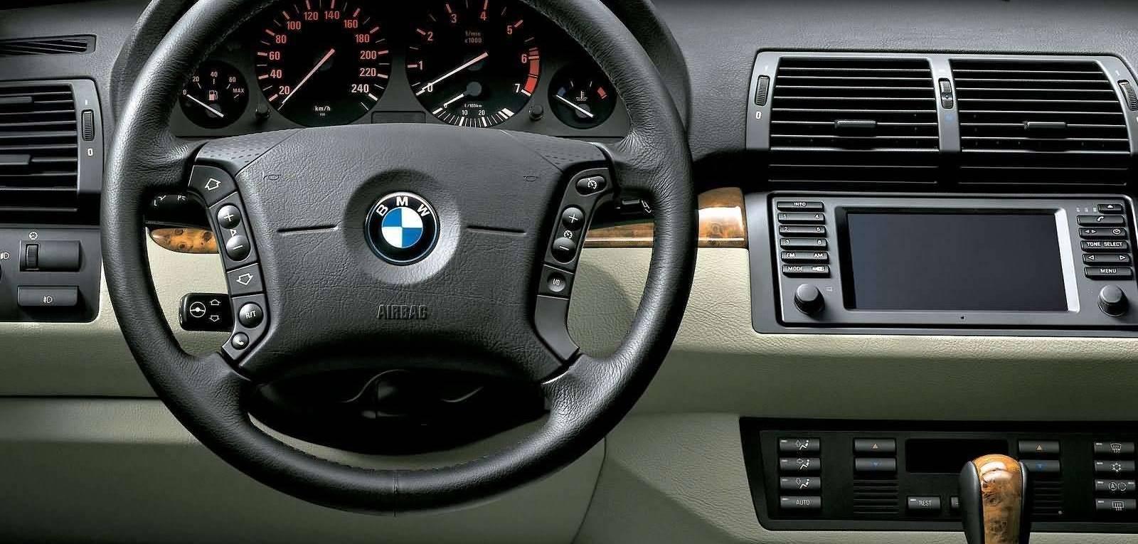 BMW X5 Series 2006 Interior Dashboard