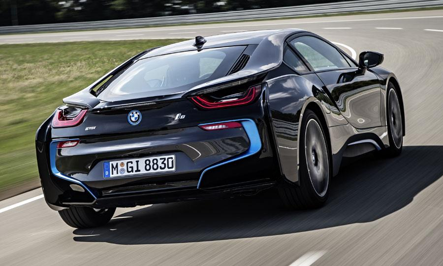 BMW i8  Exterior Rear End