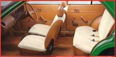 Daihatsu Charade 1983 Interior Cabin
