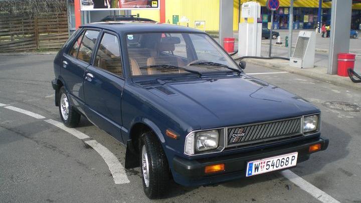 Daihatsu Charade 1983 Exterior Front End