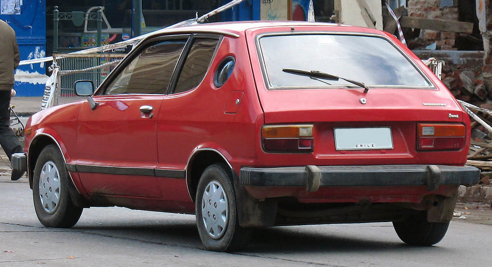 Daihatsu Charade 1983 Exterior Rear End