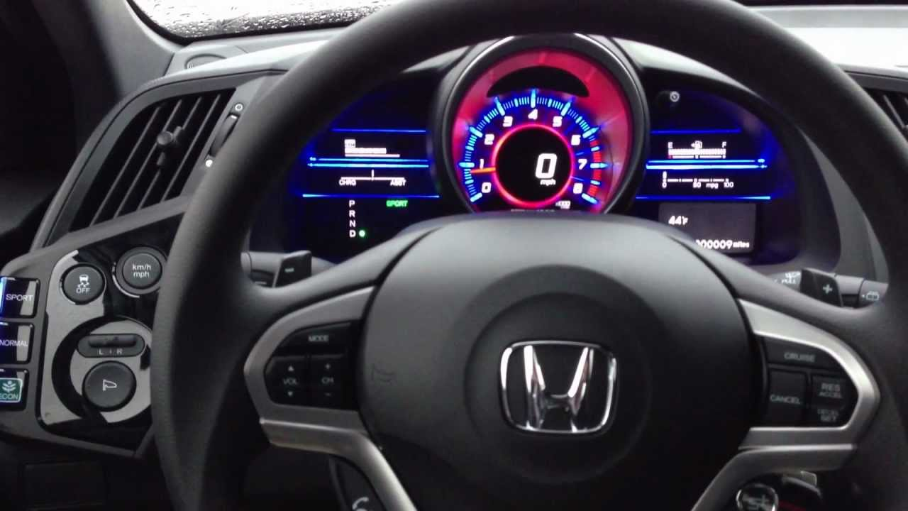 Honda Cr Z Sports Hybrid 2016 Interior Steering Wheel Cer