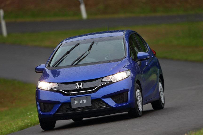 Honda Fit  Exterior Front End