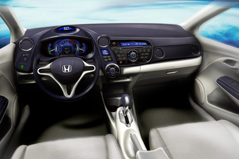Honda Insight Interior Dashboard