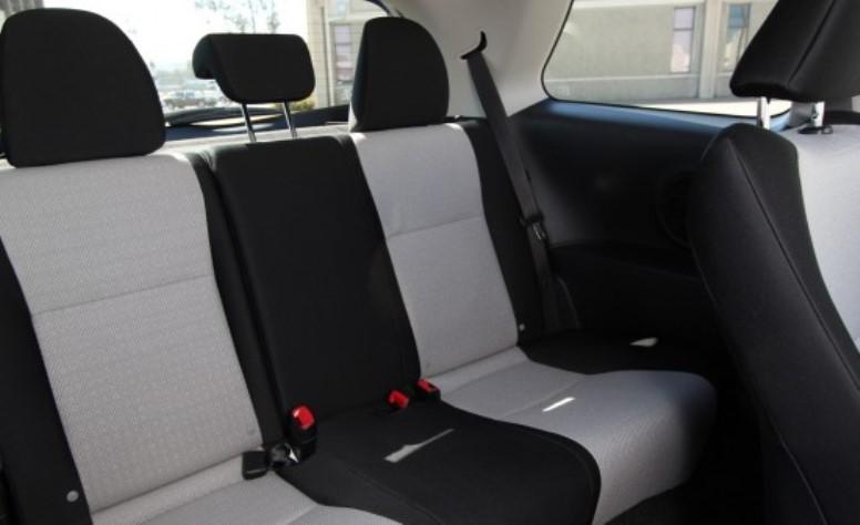 Toyota Vitz 2011 Interior Rear Cabin