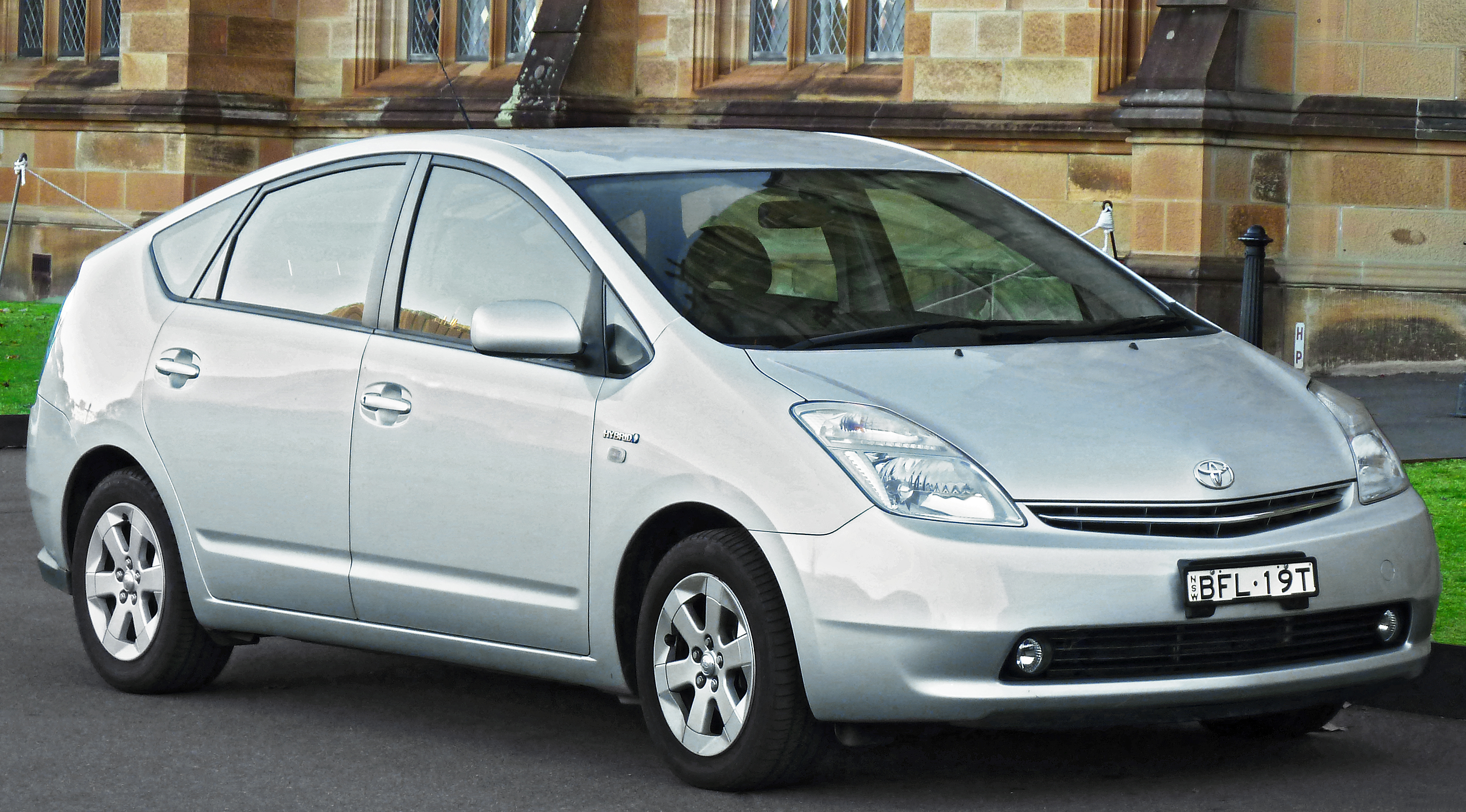 Toyota Prius 2009 Exterior Side View